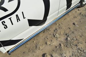 VOLKSWAGEN Multivan/Caravelle   2010- Пороги труба d63 (вариант 2) (правый) VTKT-0013982